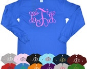 Monogram Long Sleeve T-Shirt - Tees2urdoor
