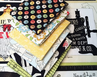 She Who Sews Small FQ Bundle A with Patch Panel