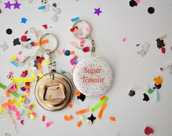 Keychain bottle opener gifts witnesses