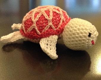 Amigurumi little turtle