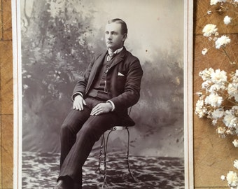 Cabinet Card of a Man