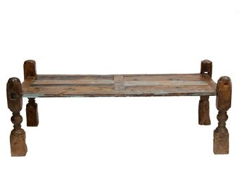 50 Off Recliamed Teak Coffee Table Indian Table Bedleg Coffee Table