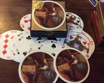 3 Packs of Vintage Playing Cards