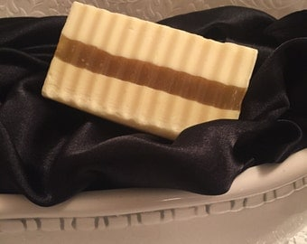Honey, Goat's Milk and Apricot Kernel Oil with Lemongrass and Jasmine Soap