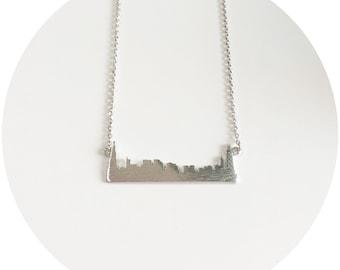 Chicago Skyline Necklace