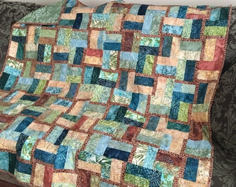 Dragonfly in the Garden Quilt