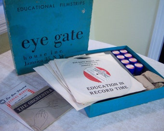 Eye Gate House, Inc./Educational filmstrips/1954/A childs introduction to the orchestra & instruments/Records and filmstrips/Music