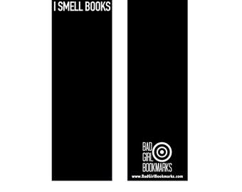 I SMELL BOOKS Bookmark
