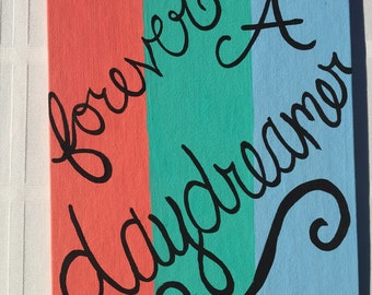 Forever a daydreamer painting