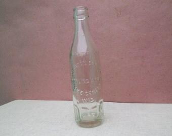 Vintage collectible Sheridan Springs Soda Bottle - Lake Geneva Wisconsin