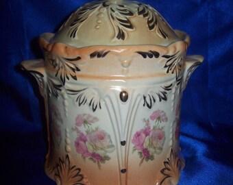 Antique Victorian Biscuit Barrel
