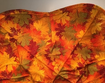 Fall/ autumn quilted Hot pad bowl