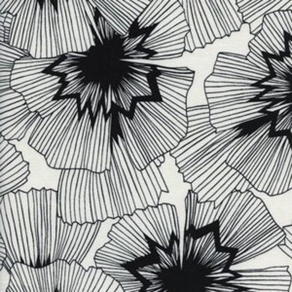 Crib Sheet >> Black and White Persephone in White >> MADE-to-ORDER black baby bedding, toddler sheet set, bassinet sheet, floral mini crib