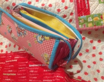 Pink Sew Together Bag