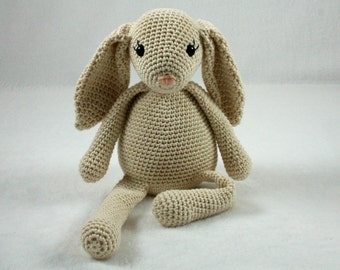 Clementine the Bunny - crochet pattern