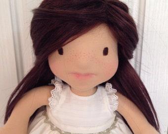 Ooak Waldorf inspired 14 inch doll