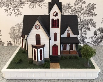 1/144 Scale Victorian Dollhouse