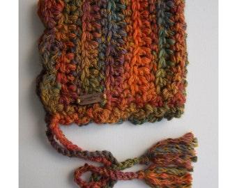Crochet Bonnet - Chunky Yarn