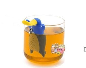Platypus Tea Infuser/Steeper with Sun Charm
