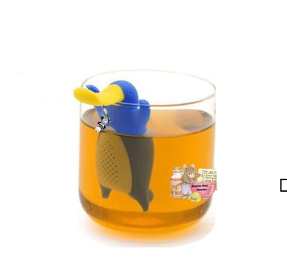 platypus tea infusersteeper with sun charm