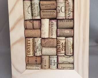 Wine cork board frame 5x7