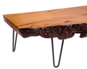 One-of-a-kind-live-edge, Hard Maple Coffee Table