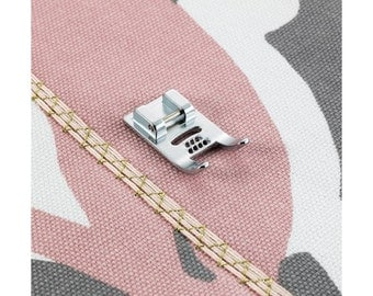 7 Strand Multi Cording Piping Presser Foot Attachment for Viking HuskyStar H Class Sewing Machine