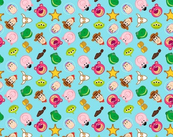 Springs Creative - Toy Story Emoji - Fabric by the Yard