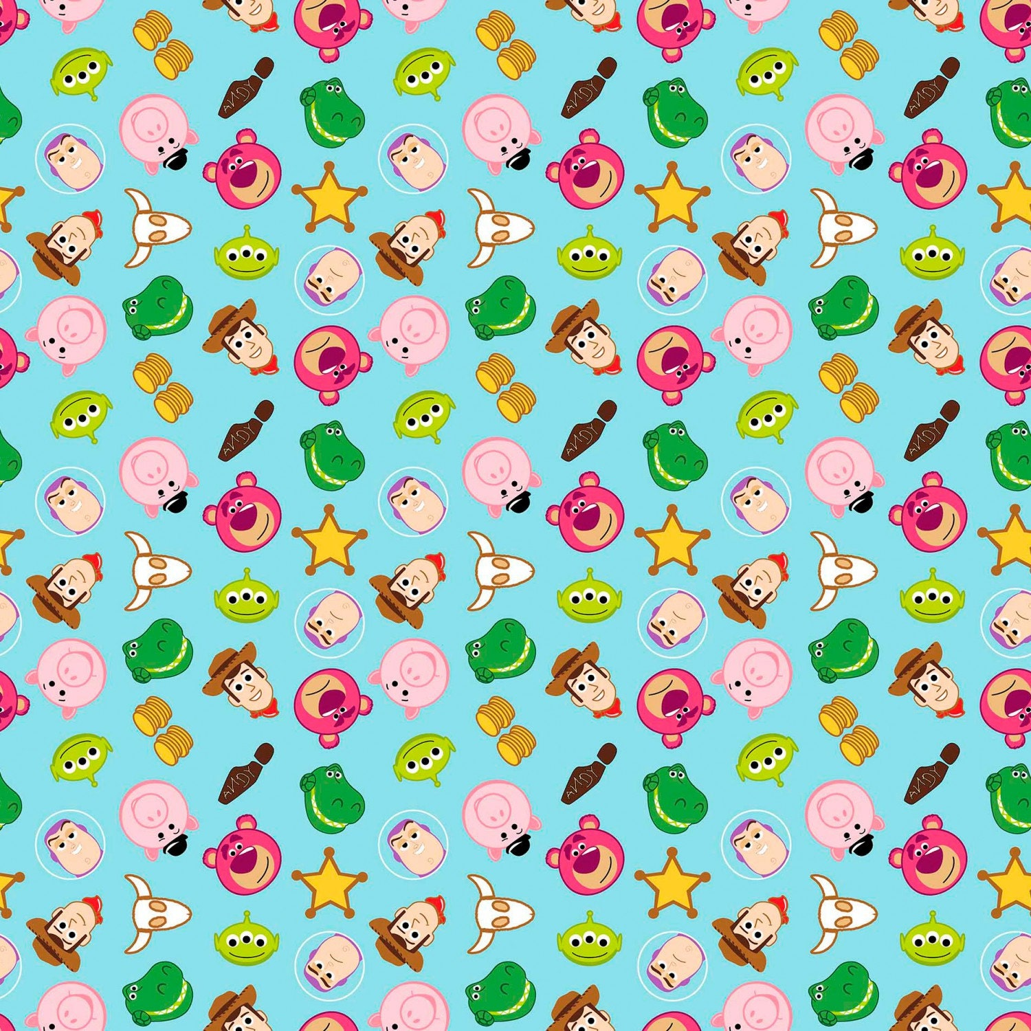 Springs creative toy story emoji fabric by the yard for Emoji material by the yard