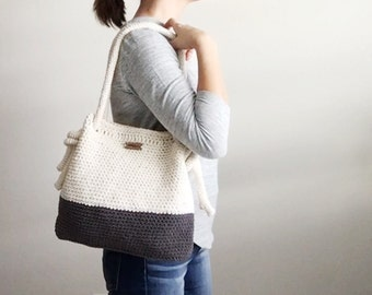 Knot Rope Bag // Two Tone