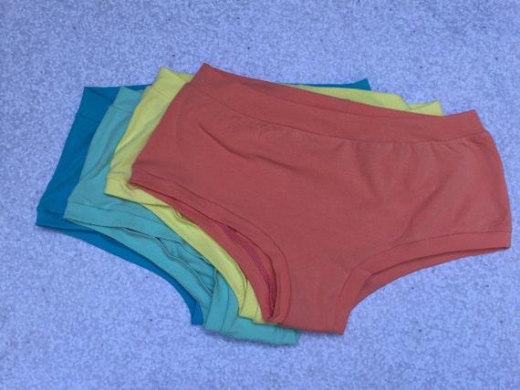 Isla Color Theme Solid Underwear Pack - Elastic Free - Comfy Undies - Scrundlewear - Scrundies -