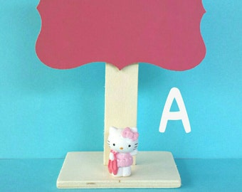 Mini Chalkboard inspired by Hello Kitty