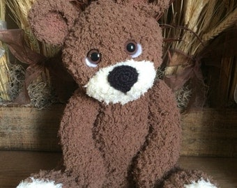 Teddy Bear/ Stuffed Animal/ Amigurumi/ Handmade Toy