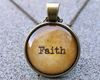 Faith - Pendant and Chain