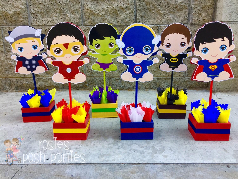 Baby Marvel Decorations