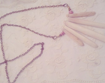 Long Sea Urchin Spine Necklace
