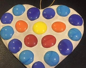 Mosaic Heart - Smartie