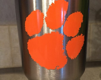 Clemson Tigers Vinyl YETI/Car Decal