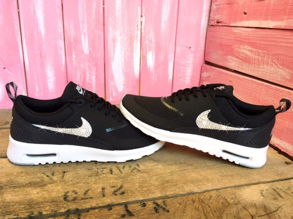 d8a14c10a2ef6 30%OFF Bling Nike Shoes Air Max Thea Running Shoes Black by ...