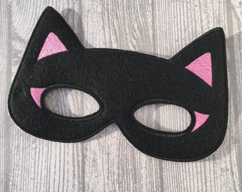 Batgirl mask, Cat Woman inspired mask, child or adult mask, pretend play