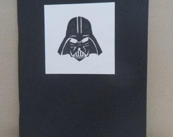 Star Wars Darth Vader Inspired Sketch or Note Book