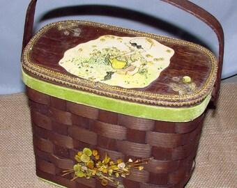 Vintage Holly Hobbie. Purse Handbag Great Holly Hobbie Collectible
