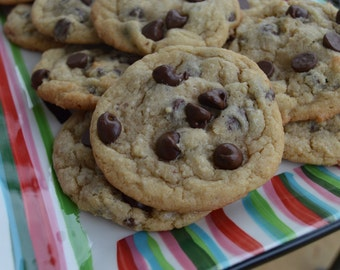 Chewy Chocolate Chip Cookies // Double Chocolate Chips // 1 Dozen