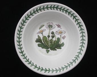 """Portmeirion Botanic Garden Daisy (Bellis Perennis) Bowl 6.5"""" Pristine"""