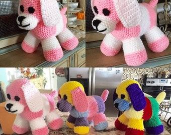 Patchwork Puppy-Amigurumi