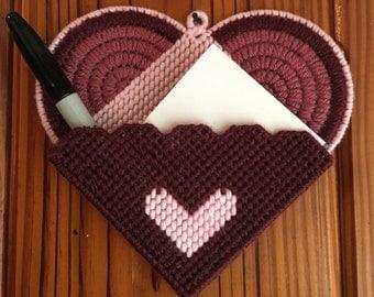 Valentine's love note holder