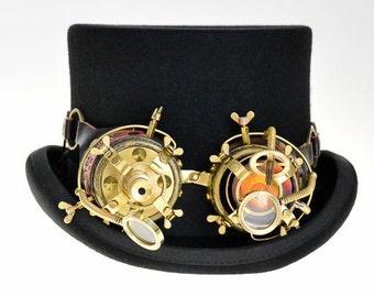 steampunk brass goggles MG5028