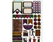 Hocus Pocus/Sanderson Sisters Weekly Layout Planner Sticker Sampler