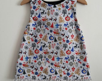 Christmas dress size 12/18 months