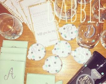 Bridesmaid Proposal Gift Baskets!